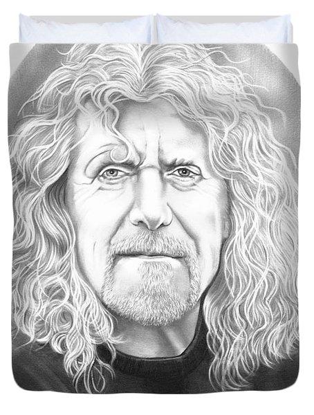 Robert Plant Duvet Cover by Murphy Elliott