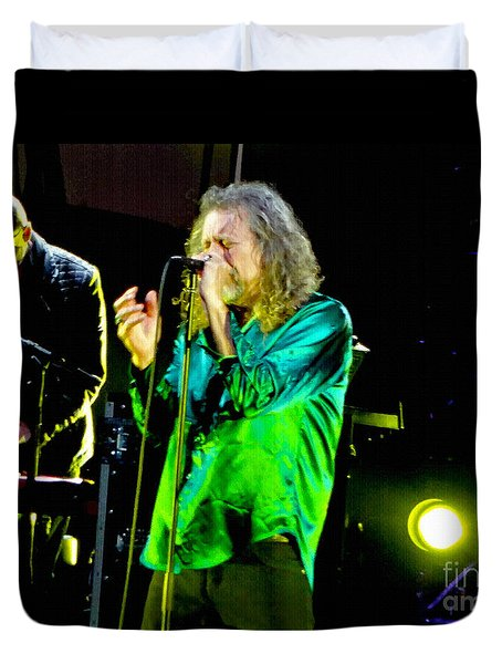 Robert Plant And The Sensational Space Shifters.6 Duvet Cover