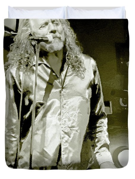 Robert Plant And The Sensational Space Shifters.9 Duvet Cover