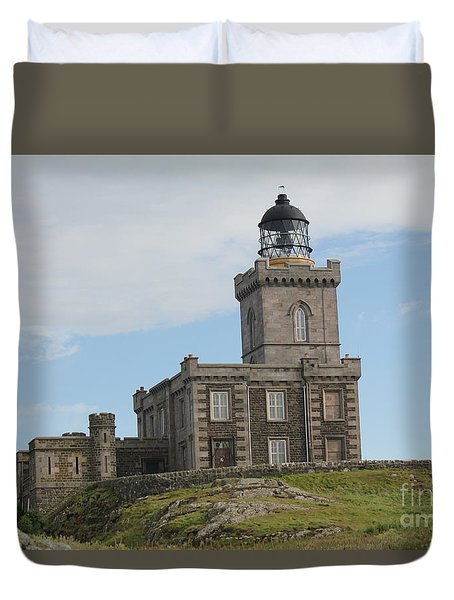 Robert Stevenson Lighthouse Duvet Cover
