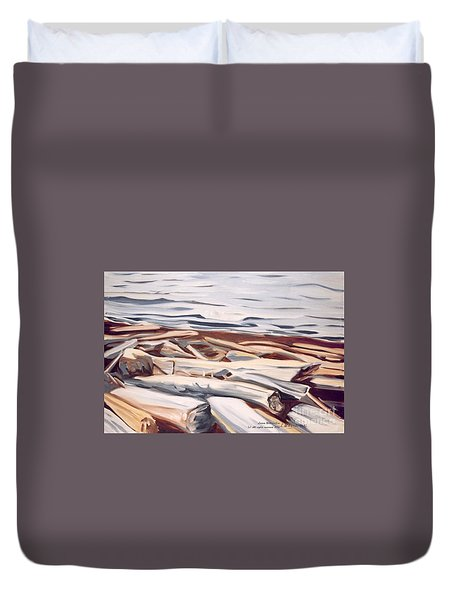 Roberts Creek, Sunshine Coast, B.c. Duvet Cover