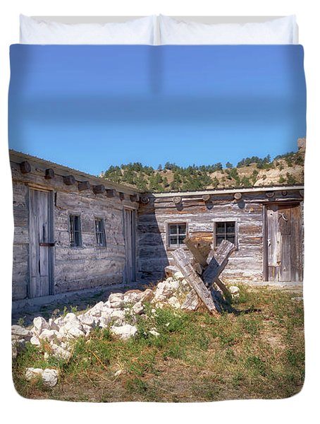 Robidoux Trading Post Duvet Cover
