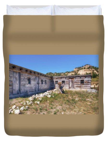 Robidoux Trading Post Duvet Cover