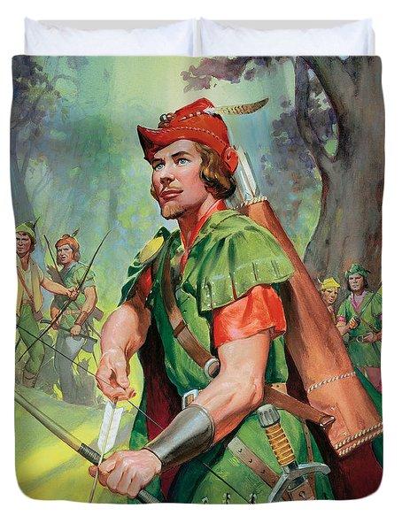 Robin Hood Duvet Cover