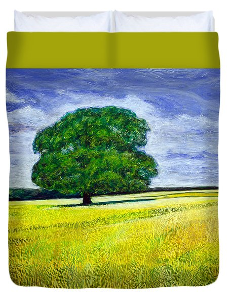 Robin's Tree Duvet Cover