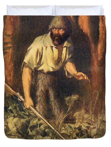 Robinson Crusoe Alone On The Island. I Duvet Cover