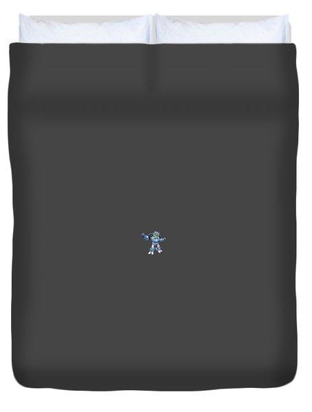 I Robot T-shirt Duvet Cover by Herb Strobino