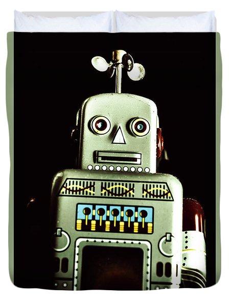 Robotic Spaceman Duvet Cover