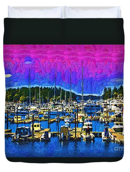 Roche Harbor 1 Duvet Cover