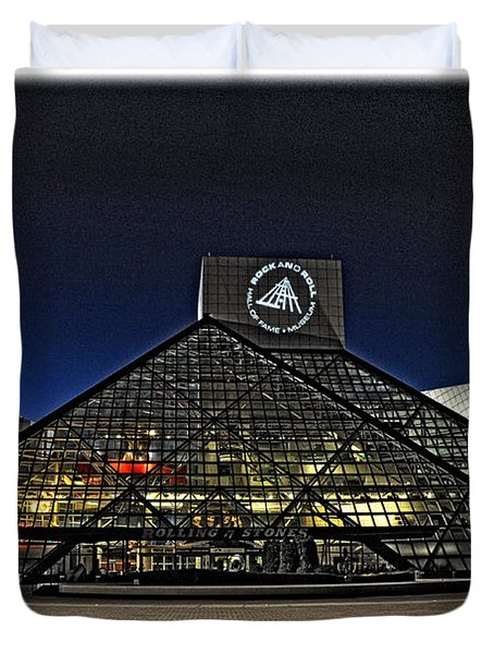 Rock And Roll Hall Of Fame - Cleveland Ohio - 5 Duvet Cover