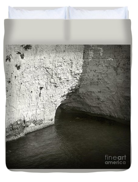 Rock And Water Duvet Cover