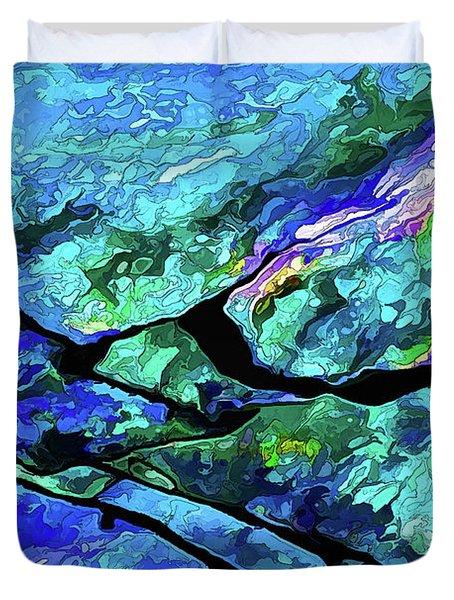 Rock Art 18 Duvet Cover