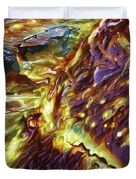 Rock Art 28 Duvet Cover