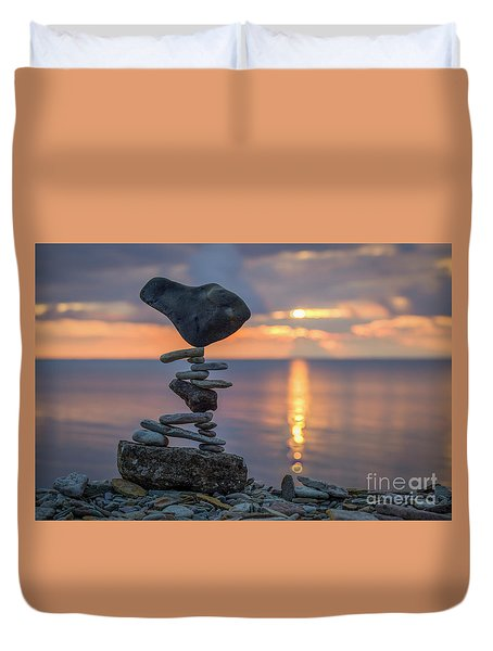 Rock Boarding Duvet Cover