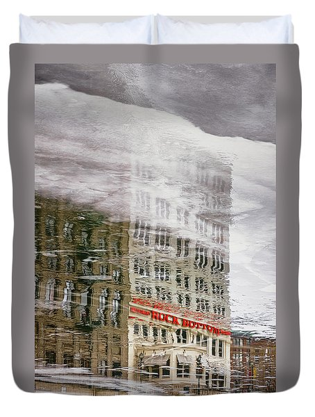 Rock Bottom Duvet Cover
