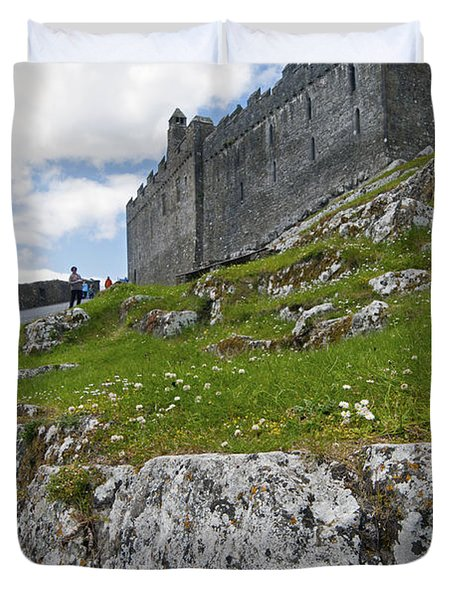 Rock Of Cashel Ireland Duvet Cover