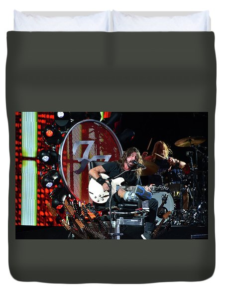 Rock Concert Duvet Cover