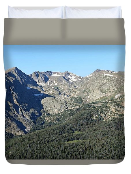 Rock Cut - Rocky Mountain National Park Duvet Cover