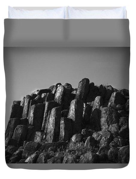 Monument To Glacier Duvet Cover