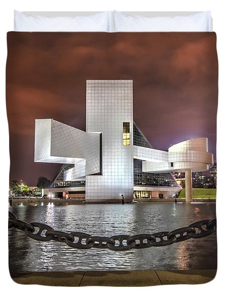 Rock Hall And The North Coast Duvet Cover