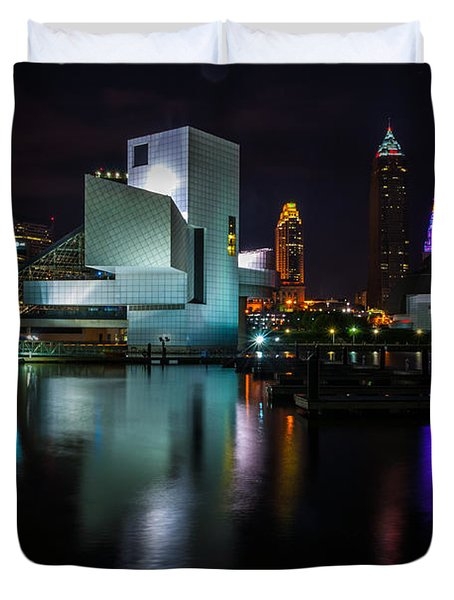 Rock Hall Reflections Duvet Cover