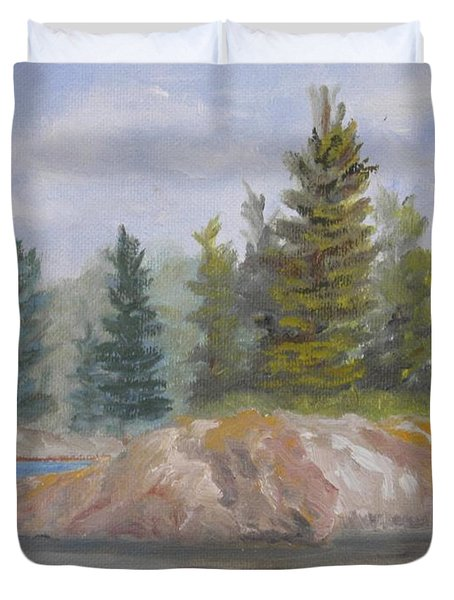 Rock Island Duvet Cover