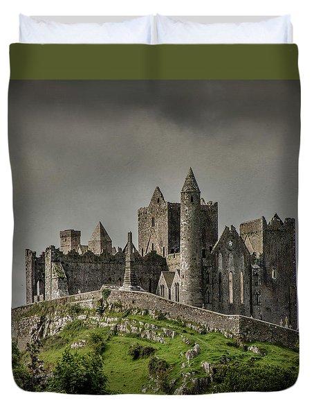 Rock Of Cashel Duvet Cover