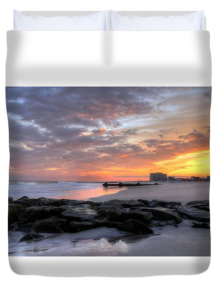 Rock On Duvet Cover