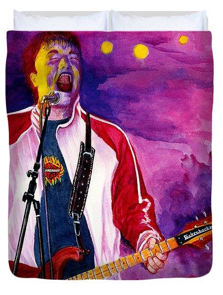 Rock On Tom Duvet Cover