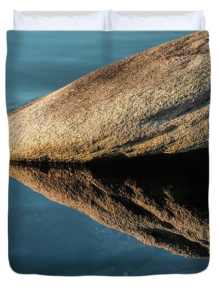 Rock Reflection Duvet Cover
