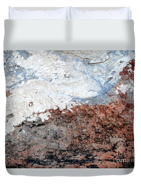 Rock Scenes Duvet Cover