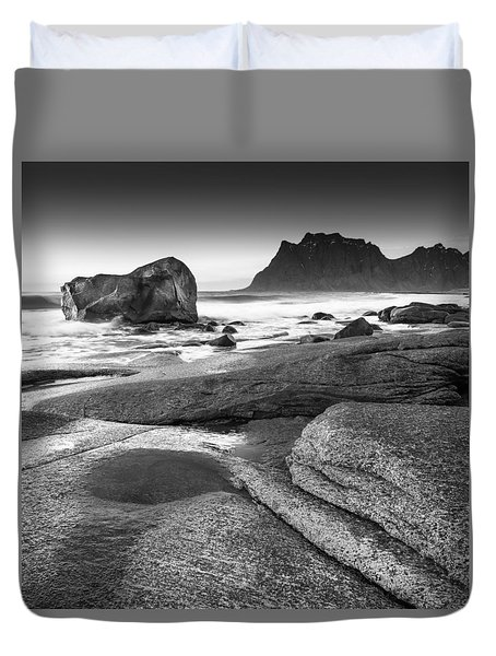 Rock Solid Duvet Cover