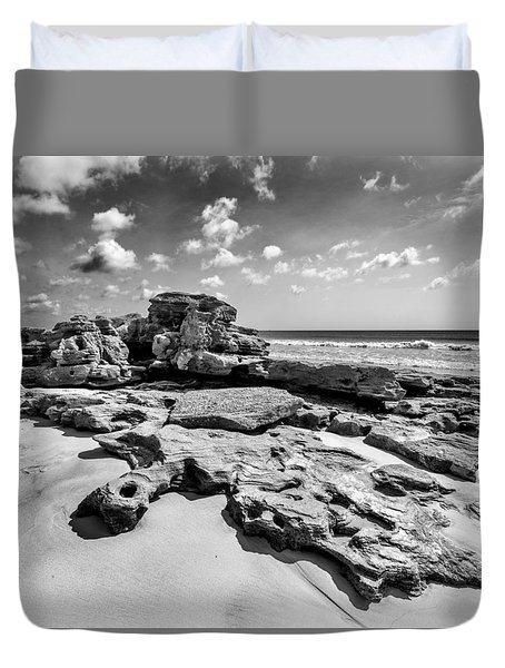 Rock Spill Duvet Cover