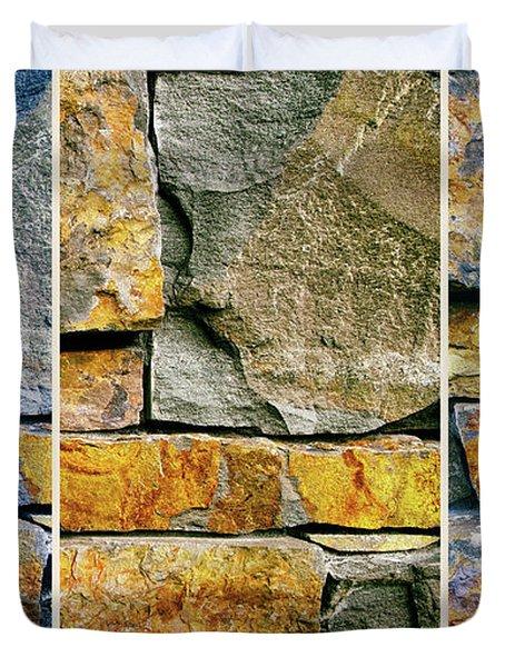 Rock Steady  Duvet Cover