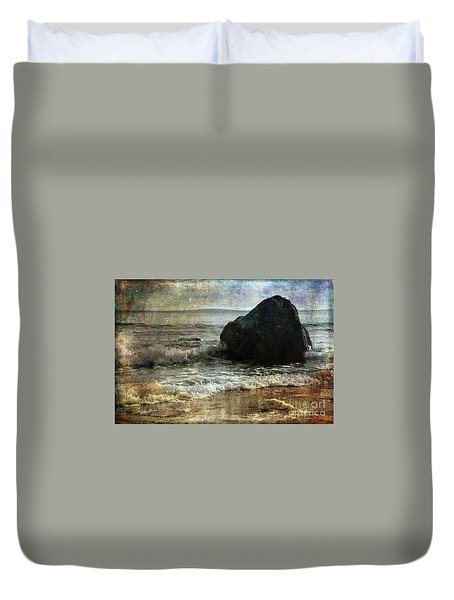 Rock Steady Duvet Cover