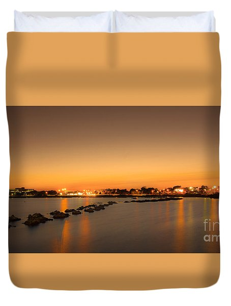 Rock Walk Duvet Cover