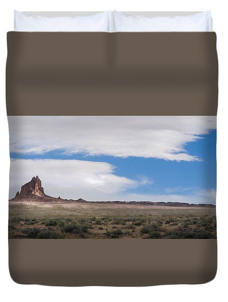 Rock With Wings Duvet Cover