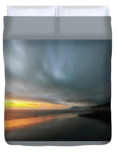 Rockaway Sunset Bliss Duvet Cover