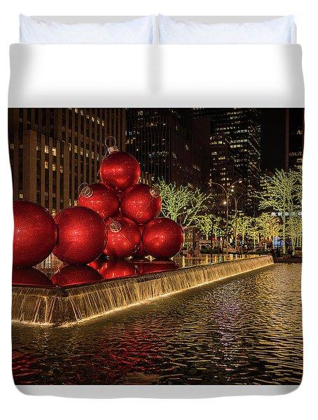 Rockefeller Center  Duvet Cover