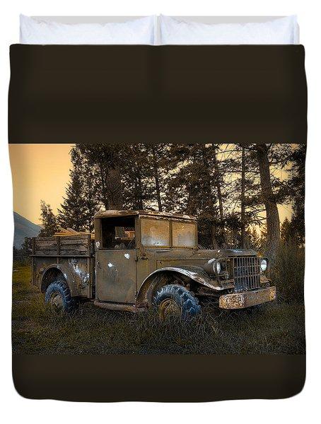 Rockies Transport Duvet Cover