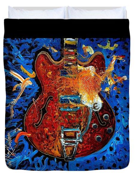 Rockin Epiphone Duvet Cover