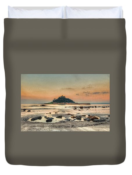 Rockpool And The Mount Duvet Cover