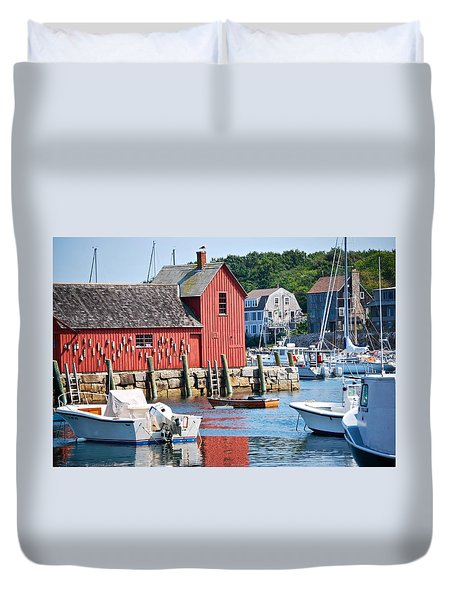 Rockport Motif 1 Duvet Cover