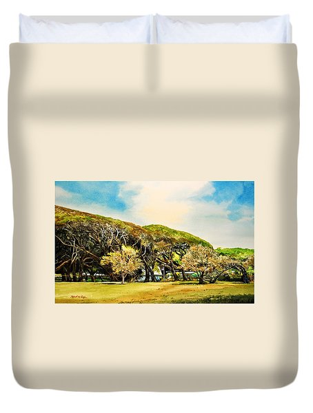 Rockport Oaks Duvet Cover