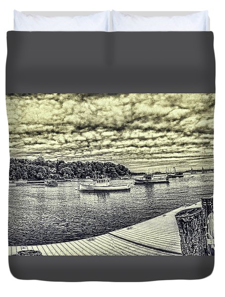 Rockport Outer- Harbor Duvet Cover