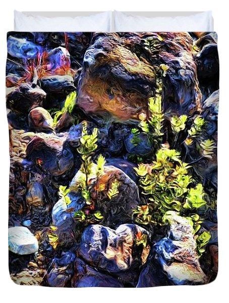 Rocks 10 Duvet Cover
