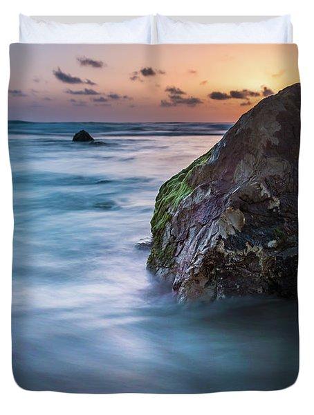 Rocks At Sunset 4 Duvet Cover