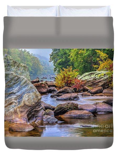 Rockscape Duvet Cover by Tom Cameron