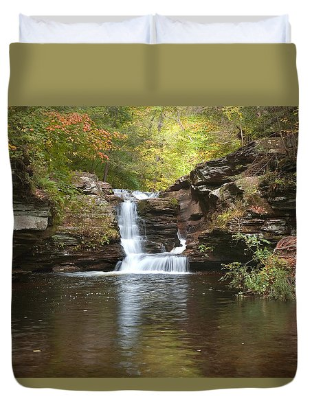 Rocktober Duvet Cover by Gene Walls