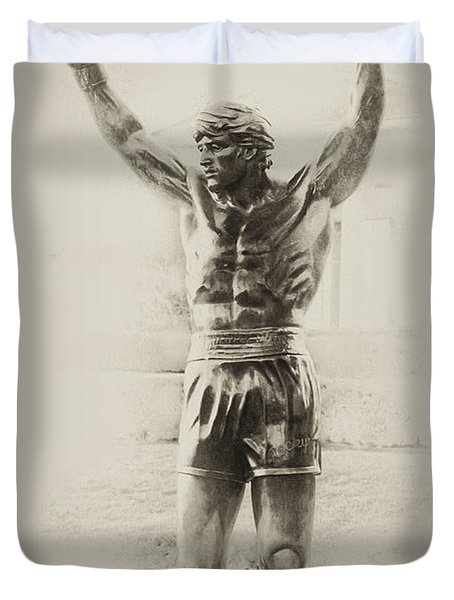 Rocky Duvet Cover by Bill Cannon